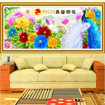 Candy Online Blooming And Wealthy DIY 5D Diamond Painting CrossStitch Full Drill Rhinestone Painting Decor #10234