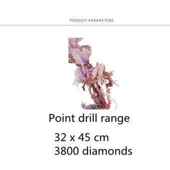 Candy Online Butterfly Elves DIY 5D Diamond Painting Cross StitchFull Drill Rhinestone Painting Decor J001 - 4