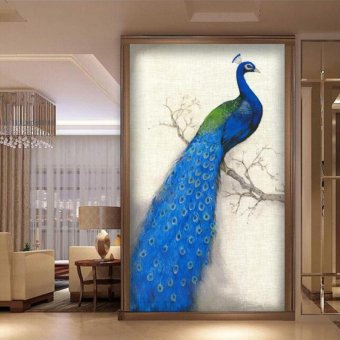 Candy Online Peacock To The Right DIY 5D Diamond Painting CrossStitch Full Drill Rhinestone Painting Decor #492-3