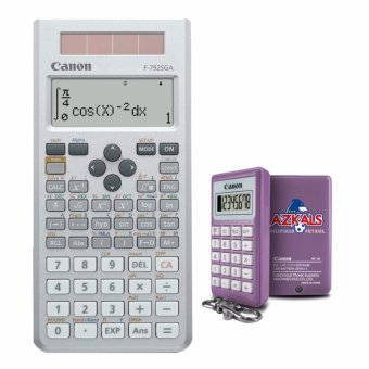 Canon F-789SGA Scientific Calculator with Kc-30 Azkals