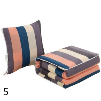 Car Pillow Quilt Dual-use Multi-function Driving ComfortPersonalized Car Pillow Was Four Seasons(5) - intl