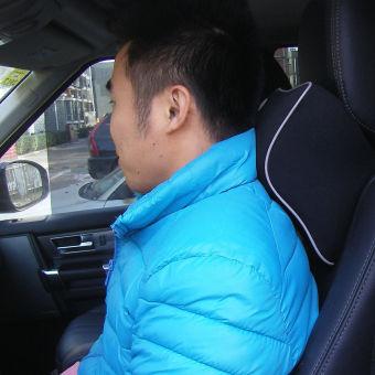 Car Seat Headrest Pad Memory Foam Travel Pillow Head Neck RestSupport Cushion (Intl) - 4