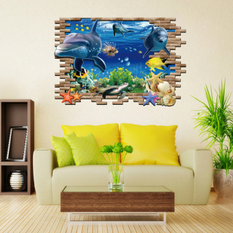 Cartoon children's room 3D wall paper wall adhesive paper