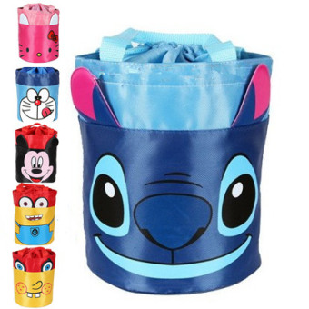 Cartoon drum container lunch bag container bag