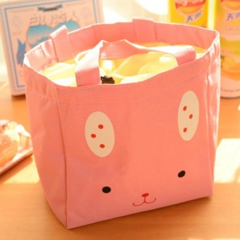Cartoon Hand-held Insulation Lunch Bag Thick Lunch Box Bag - intl Price Philippines
