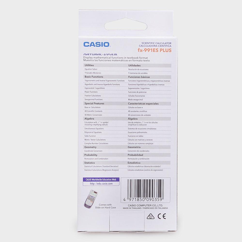 Philippines Casio Fx 991es Plus Scientific Calculator New Price In 991 Id