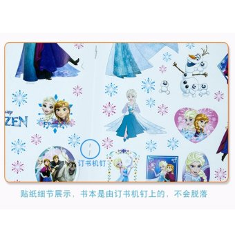 Catwalk Frozen My Little Pony Mickey Coloring Book Party For Kids12 Pages With Sticker - intl - 5
