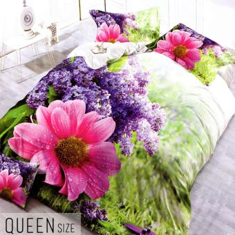 Celebrity Collection Queen Size 3D Bedding Set of 3