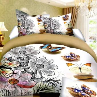 Celebrity Collection Single Size 3D Bedding Set of 2