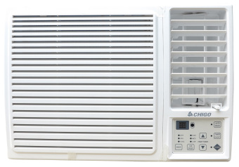 Chigo CYW-20C2 0.8HP Remote Controlled Window Type Air Conditioner (White)