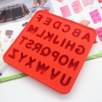 Chocolate English Lettered cake silicone Mold