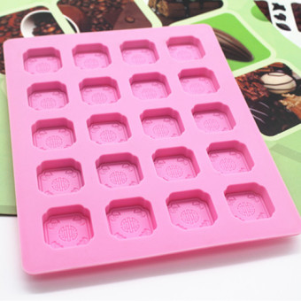 Chocolate mold silicone jelly pudding Ice Tray