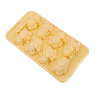Chocolate Tray Mold Silicone Penguin-Shaped (Yellow) - picture 2