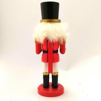 Christmas Decor Wooden Nutcracker 21 CM Figurine for the Holiday(Made of wood) by Everything About Santa (Christmas decoration andgift suggestion) - 3
