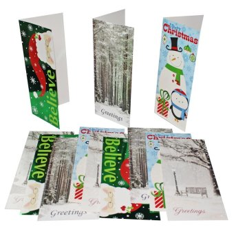 Christmas Greeting Cards 12-piece Set - picture 2