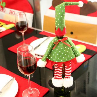 1X Bell. Source · Christmas hotel restaurant Bottle Cover wine bag
