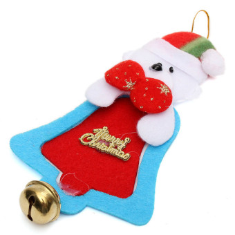Christmas Ornament Party Tree Hanging Bell Decoration Bear - picture 2