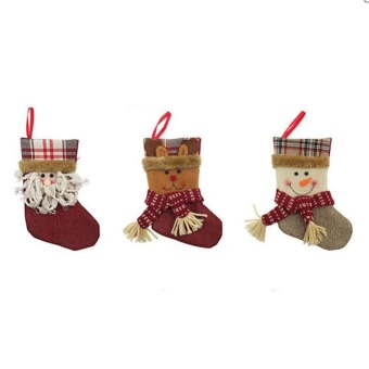 Christmas Socks Candy Bags Christmas Decorations, Santa - intl - picture 2