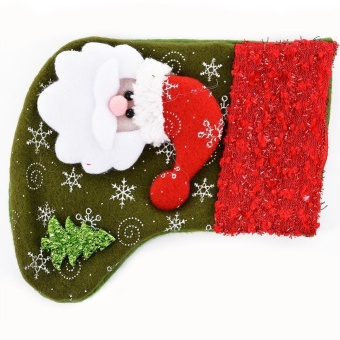 Christmas Socks Candy Bags Christmas Hanging, Santa Claus - intl - picture 2