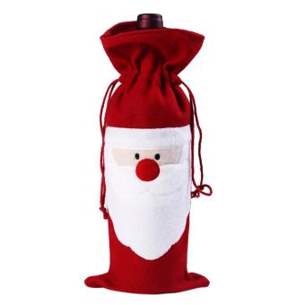 Christmas Wine Bottle