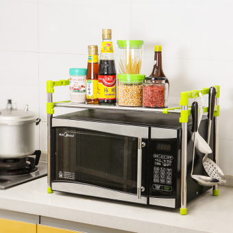 Chuangyi Double-layer Stainless Steel Rack in Kitchen