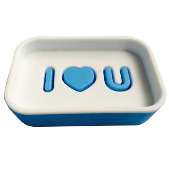 Citylong plastic multi-color double layer household soap dish soap box