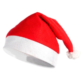 Classical Christmas Hat Red
