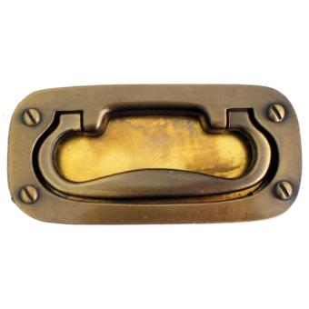 Classy 932 102mm Big Modern Cabinet Handle (Antique Brass)