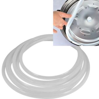 Clear Silicone Gasket Sealing Ring for Home Cooker KitchenTool(22cm) - intl