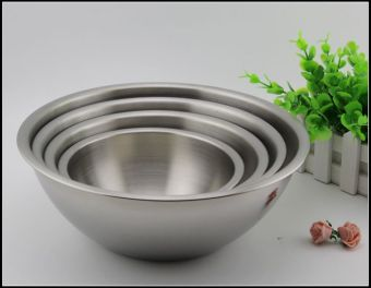 Clearance mixing dish salad bowl stainless steel bowl