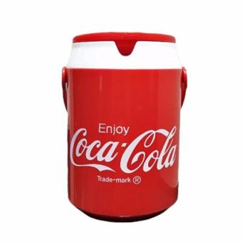 Coca Cola Collectible 1 Liter Mini Beverage Jug