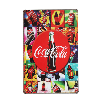 Coca Cola Metal Tin Sign