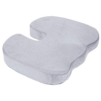 Coccyx Orthopedic Memory Foam Seat Cushion for Chair Car OfficeHome Grey