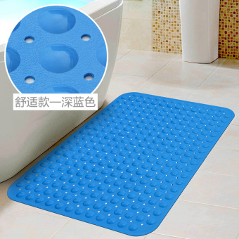 Comfortable non-stick hair bathroom anti-slip mat