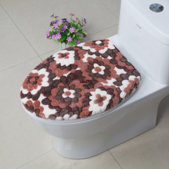 Companion sets cover mat toilet cover