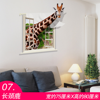 Cool model animal poster paper wallpaper wall adhesive paper