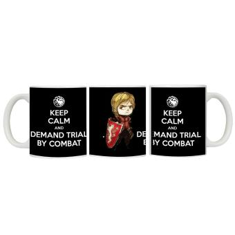CopyCut Couple Cute Statement Mug Game of Thrones Trial By Combat -Gift Set