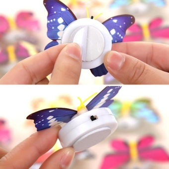 Creative Color Butterfly LED Lights a t Night Free Design - intl - 5