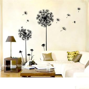 Creative Dandelion Removable Mural PVC Wall Sticker - picture 2