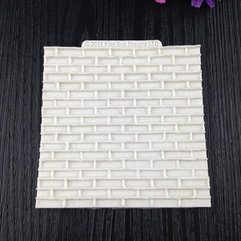 Creative DIY Silicone Stone Brick Fondant Cake Mold Baking Tools Mould - intl
