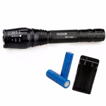 Cree SKY-1064 30000W Ultrafire 6000 Lumens 5Modes CREE XML T6 LED Flashlight