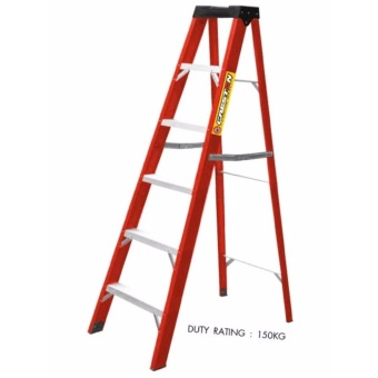 Creston Fiber Glass Step Ladder 3+1 Step (104cm)