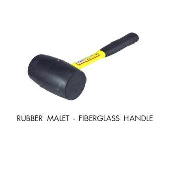 CRESTON RUBBER MALLET FIBERGLASS HANDLE (16oz)