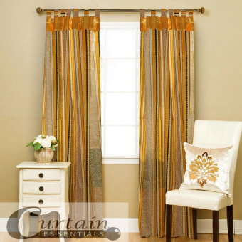 Curtain Essentials Chimalis Curtain (Golden Yellow) Single Panel