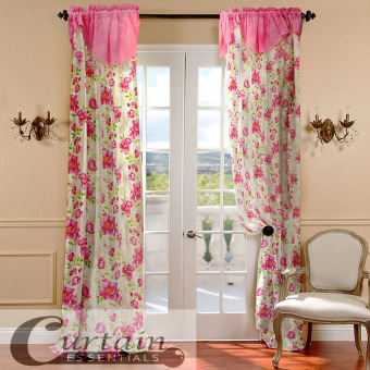 Curtain Essentials Daffodil Pink Single Panel