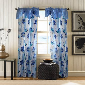Curtain Essentials Ivy Dodger Blue Single Panel Price Philippines