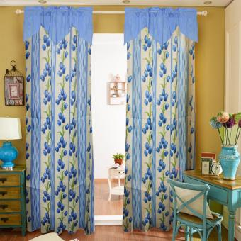 Curtain Essentials Lotus Dodger Blue Double Panel Price Philippines