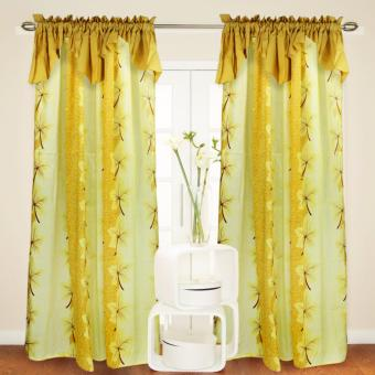 Curtain Essentials Maple Yellow Single Panel