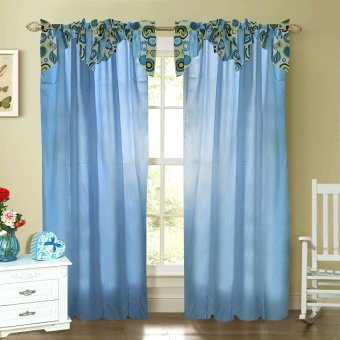 Curtain Essentials Orion Dodger Blue Single Panel