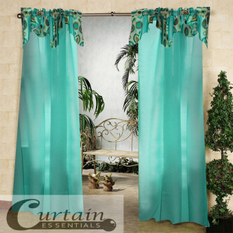 Curtain Essentials Orion Pale Green Single Panel